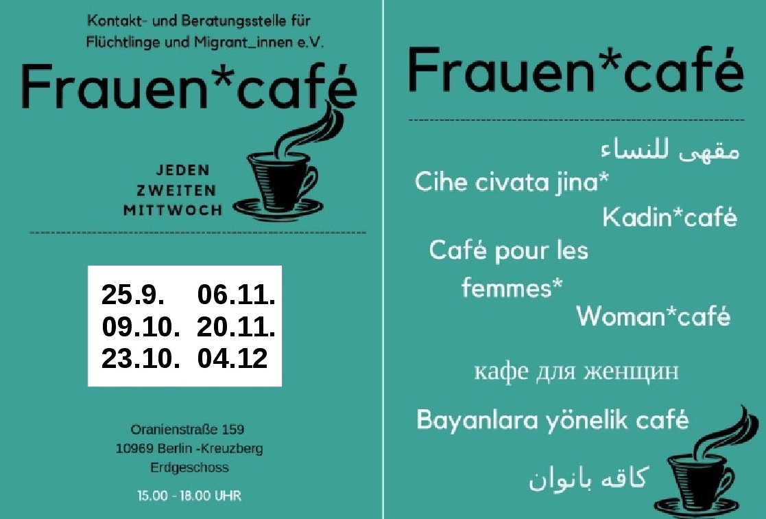 flyer frauencafe septoktnov2019